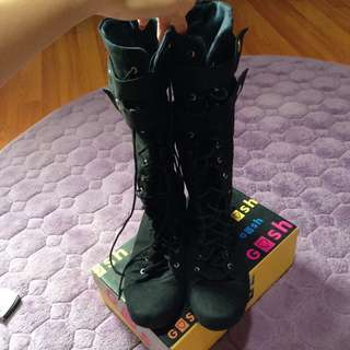Korean Leg Boots