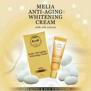 Melia Anti Aging Whitening Cream 1Pcs