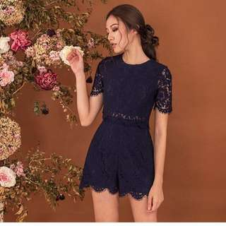 Doublewoot Lace Romper