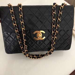"""CHANEL 10"""" Classic, KELLY Jumbo, Classic Tote Bag, Backpack. All In Excellent, Very Good Vintage Condition."""