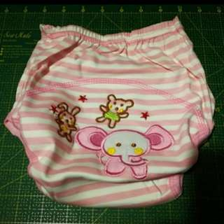 Toddler Potty Training Pant (PINK elephant)