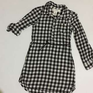 H&M kids plaid dress