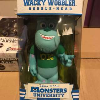 Monsters inc Wacky wobbler Sulley