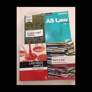 A-Level Text Book List