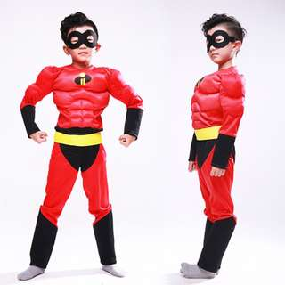 The Incredibles Mr. Incredible Muscle Child Costume 4-12Y