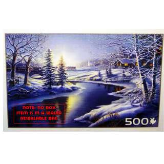 Jigsaw Puzzle - 500 pieces -  All Is Calm