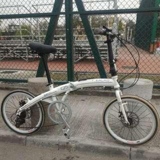 "20"" KALAQ Q5 Folding Bike 碟煞"