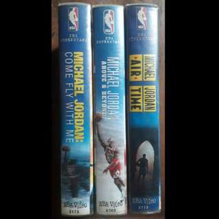 Michael jordan original vhs tape