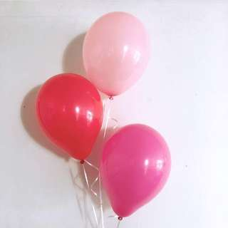 Helium Balloons (Valentine's Day Special)