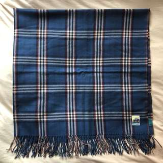 Paul Smith square checked scarf