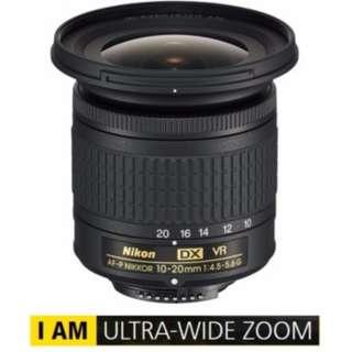 Nikon 10-20mm f4.5-5.6G VR Nikkor lens *NEW*