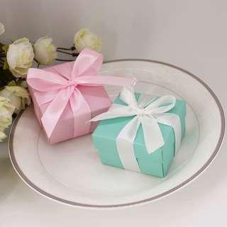 Tiffany Candy Box/ Wedding Favour / Berkat
