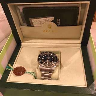 Rolex Deep Sea BLUE Clone/KW Super Premium (Ultimate Premium)