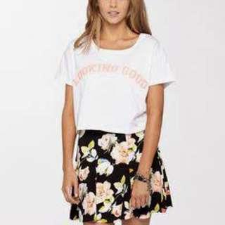 Textured Skater Skirt (Supré)