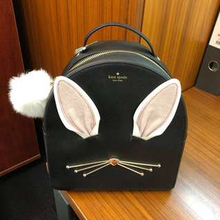 Brand new with tag Kate Spade rabbit backpack