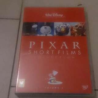 Pixar cartoon short films dvd
