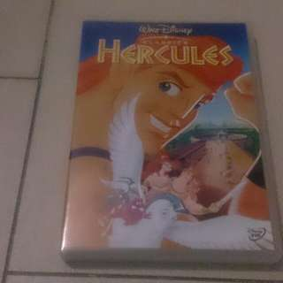 Disney Hercules cartoon dvd