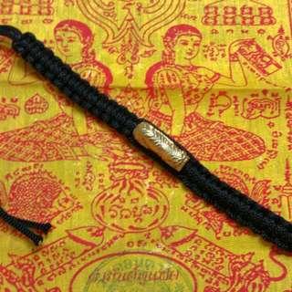 Thai Amulet Thai Amulet Tiger Takrut Bracelet
