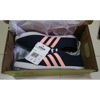 Brand New Adidas Neo Women Sneakers (Navy/Orange) (UK 4)