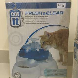 CAT-IT DRINKING FOUNTAIN AND BOWL (JUALAN 10 FEB 2018 SHJ)