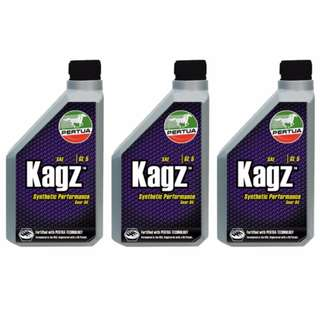 Pertua GL-5 Kagz Gear Oil 1L (Bundle of 3)