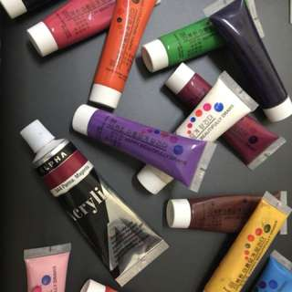 Acrylic Paints - Nail Art