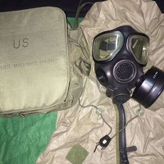 M40 US Military gas mask
