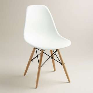 Looking for: White Molded Chair (1,000php)