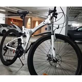 Foldable Mountain Bike (MTB)