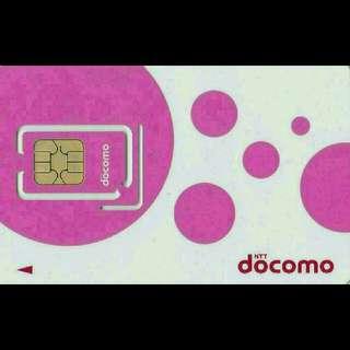 JAPAN 日本 上網卡 8天 4G 2GB + 無限數據卡 SIM CARD