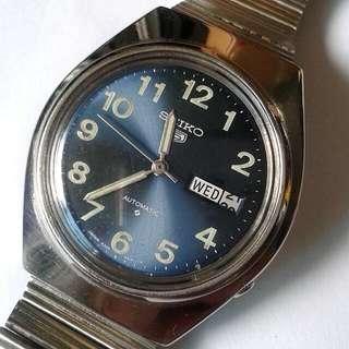 SEIKO 5 Auomatic Watch Bezel 38mm 21 jewels