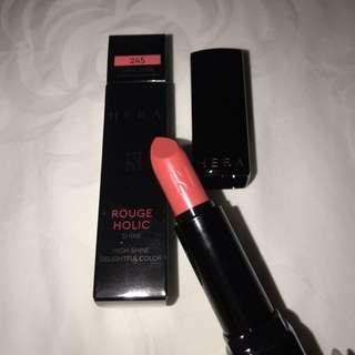 Hera Rouge Holic Shine Lipstick Coral Fiesta