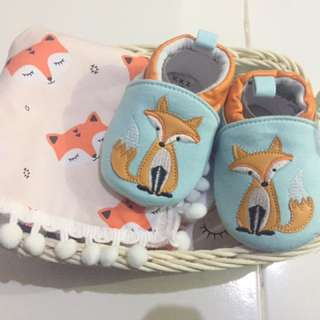A103 Fox Hampers for new born baby unisex