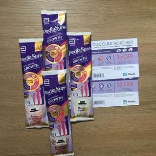 PediaSure with Discount Voucher 8 SGD