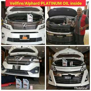 FULLY SYNTHETIC ENGINE OIL PLATINUM OIL