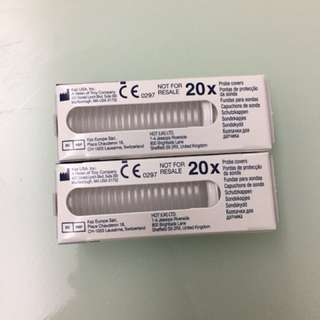 Braun thermometer ear probes 40pcs for 2 packs