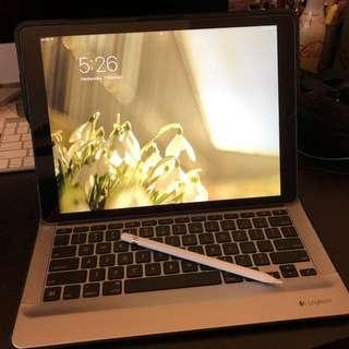 iPad Pro 12.9 LTE版, 128GB, 連筆及Keyboard
