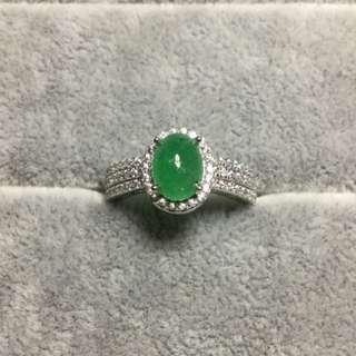 100% Authentic Emerald Gem Ring