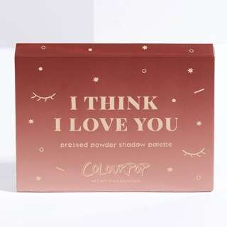 BRAND NEW Colourpop I Think I Love You Eyeshadow Palette