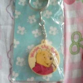 Winnie d pooh keychain