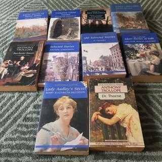 Preloved Classics Saki, Charles Dickens, O Henry, Chekhov, Anthony Trollope