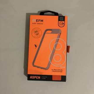 EFM case for IPhone 6S Plus, 7 Plus & 8 Plus