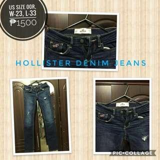 Pre loved hollister denim jeans