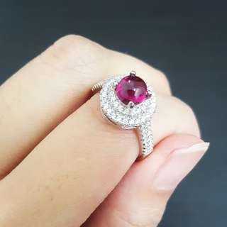 100% Authentic Tourmaline Gemstone Ring