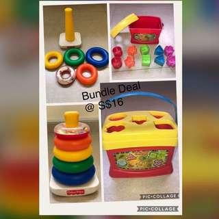 Preloved Fisher Price toys - Bundle Deal