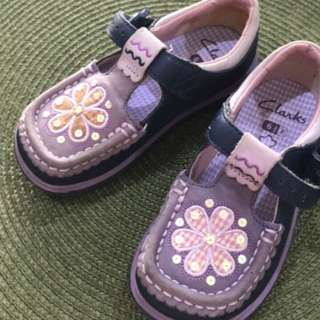 Clarks girls shoes