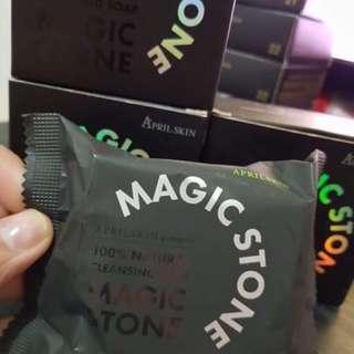 Magic Stone 100% natural cleansing soap #aprilskin