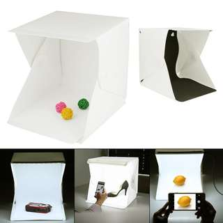 Backdrop Cube Box Mini Photo Studio 9""