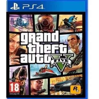 PS4 Grand Theft Auto 5 – GTA 5