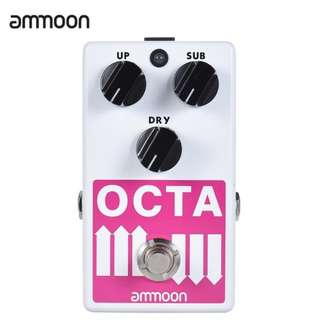 Ammoon Octa Mini Pitch Shifter Polyphonic Effect Pedal